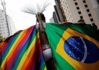 En imágenes: El arcoíris inunda Sao Paulo en la marcha del orgullo gay