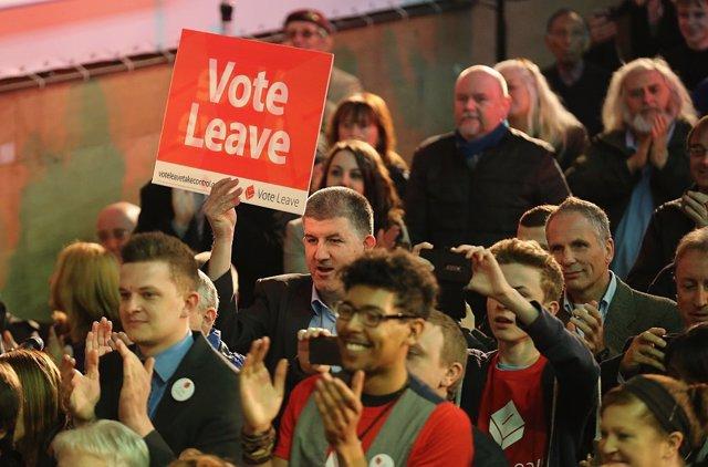 Campaña en Londres a favor del Brexit