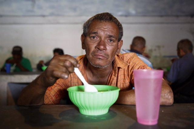 Comedor social en Caracas