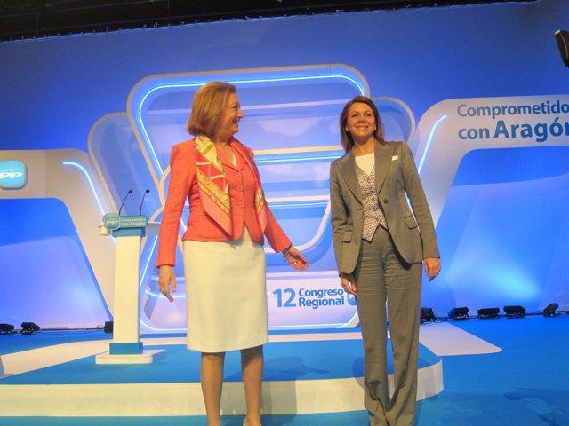 Rudi Y Cospedal, En La Clausura Del Congreso