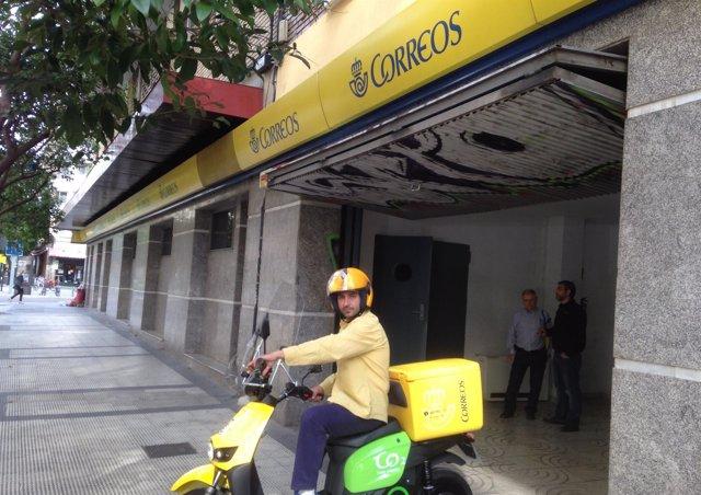 Correos Incorpora Ocho Motocicletas Para El Reparto En Zaragoza