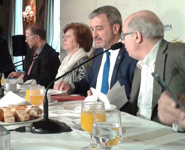 El segundo teniente de alcalde Jaume Collboni