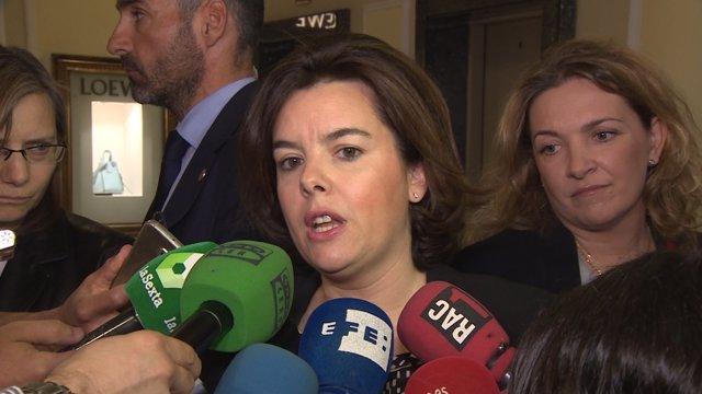 Santamaría apela a presunción de inocencia del presidente de Murcia