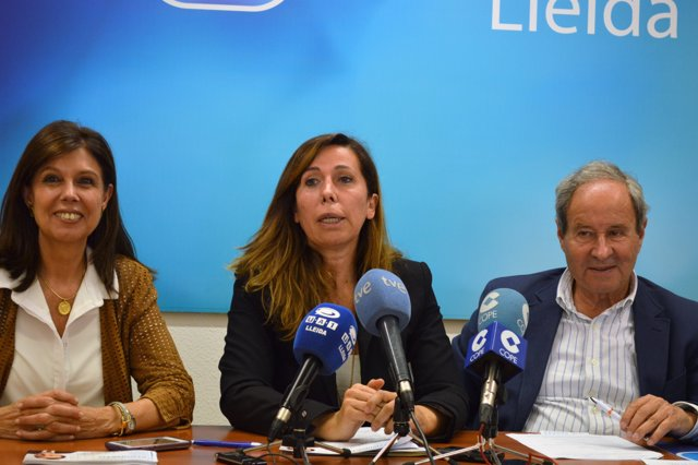 La presidenta del PP catalán, Alicia Sánchez-Camacho