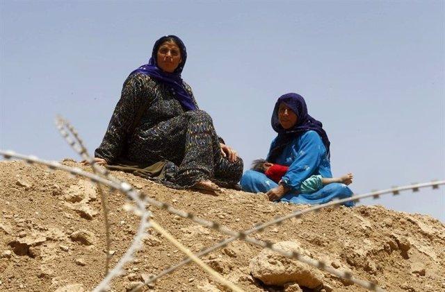 sirios refugiados