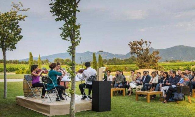 Imagen del festival que reúne vino, música y gastronomía