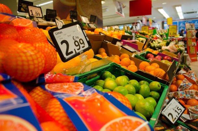 Consumo, precio, precios, IPC, supermercado, alimentos, compras, comprar, frutas