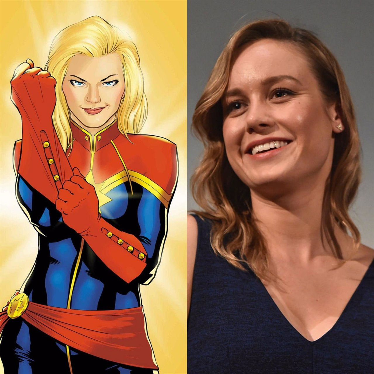 Brie Larson es la Capitana Marvel