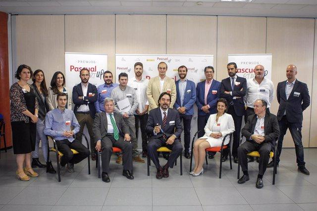 Jurado y finalistas de los premios Pascual Starup