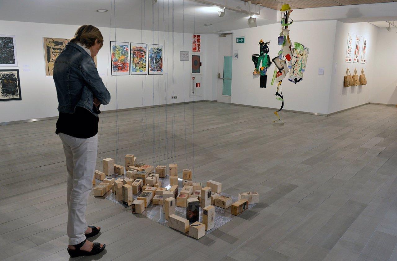 Exposición del Festival 10 sentidos en Fundación Bancaja