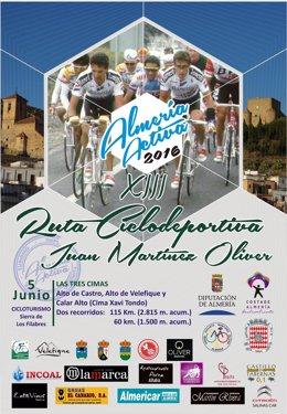 La Ruta 'Juan Martínez Oliver', incluida en el programa 'Almería Activa 2016'.