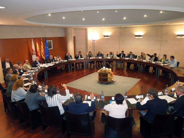 Pleno de la Diputación de Huesca
