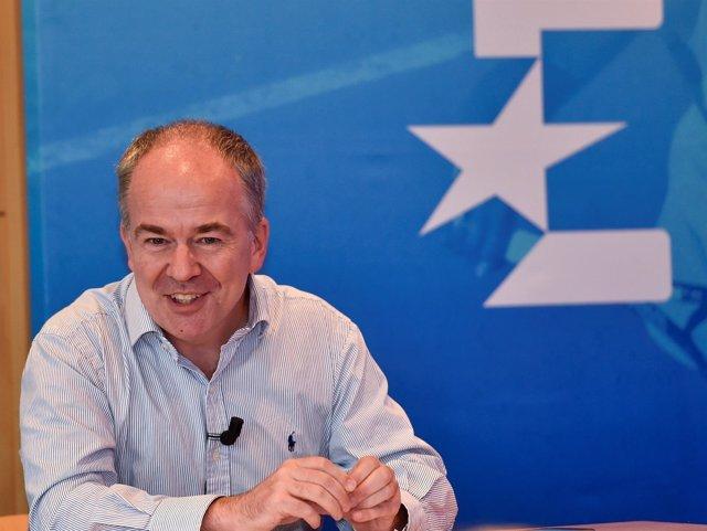Peter Hutton, CEO de Eurosport