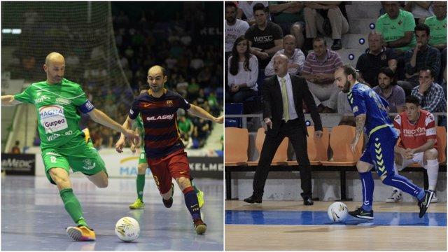 Barcelona vence a Magna e Inter gana en Palma