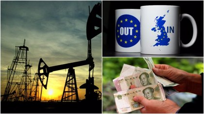 Petróleo, yuan o el 'Brexit', entre las claves a tener en cuenta por los inversores