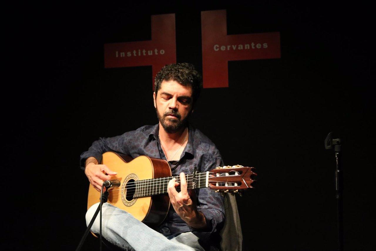 El Guitarrista Algecireño José Carlos Gómez Presenta Su Nuevo Disco En Tokio
