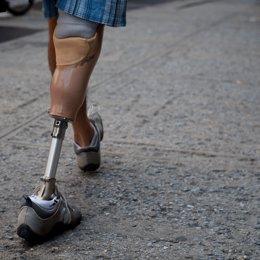 Prótesis, pierna, recurso