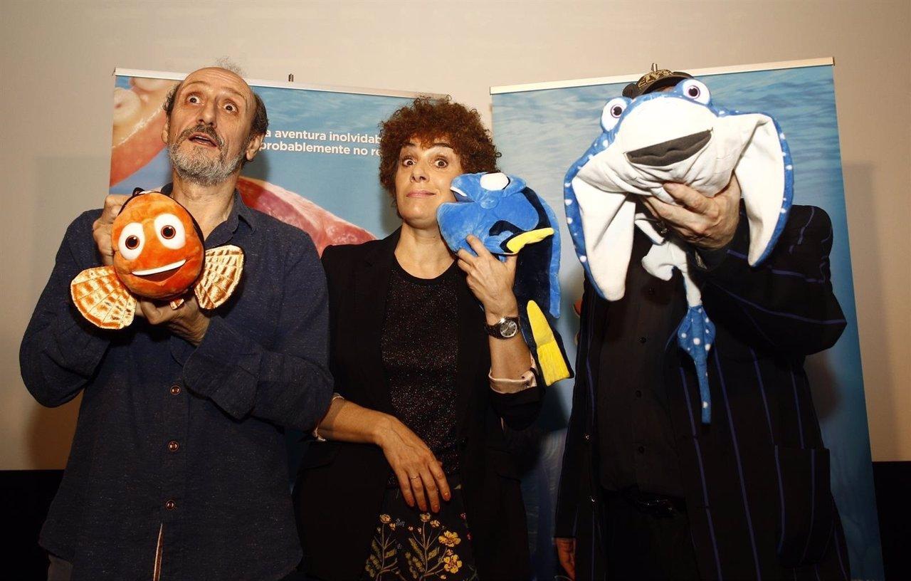 José Luis Gil y Anabel Alonso
