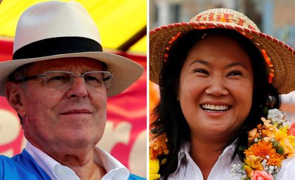 Kuczynski lidera dos encuestas a un día de la segunda vuelta en Perú