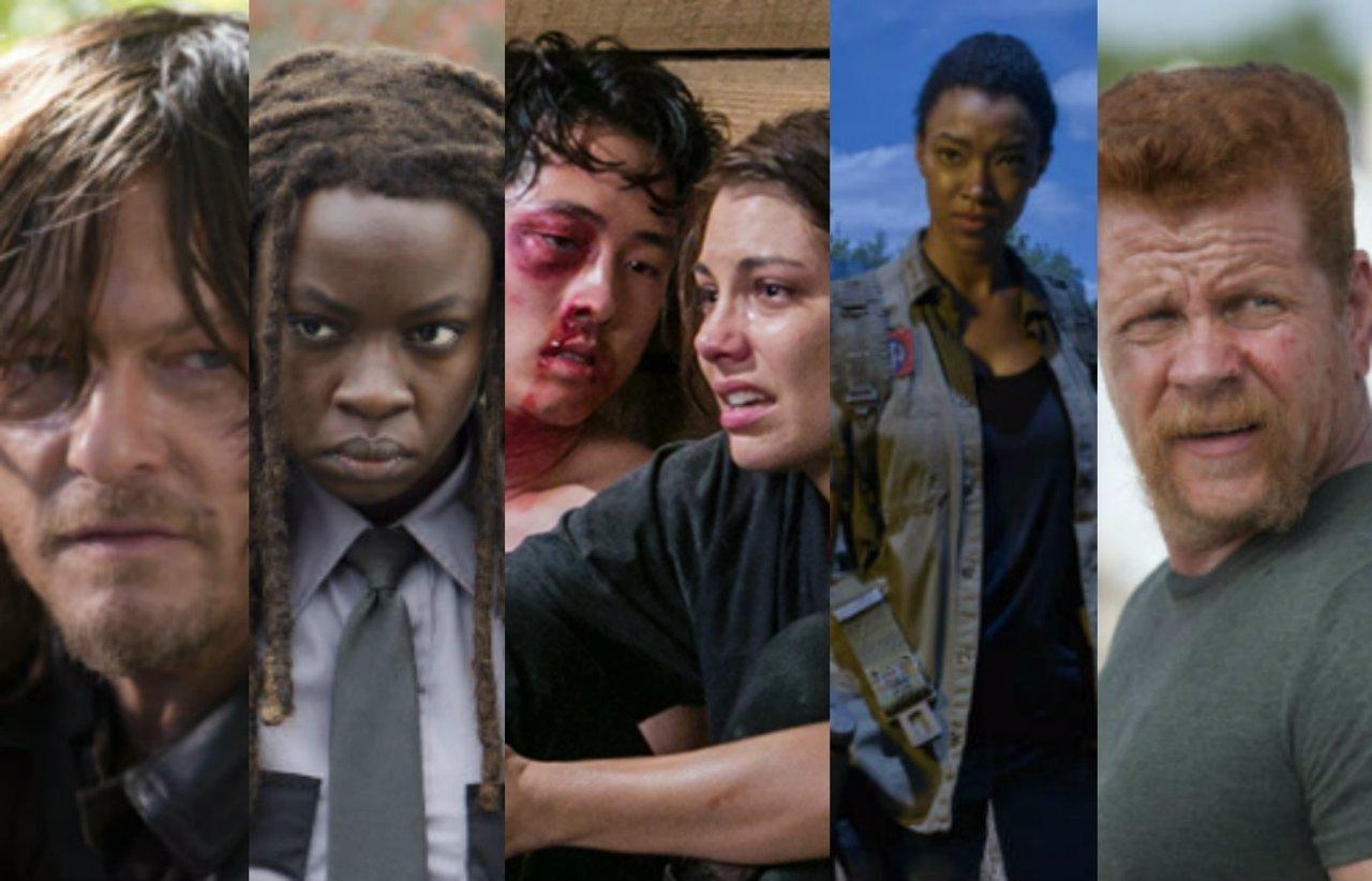 Los personajes de The Walking Dead