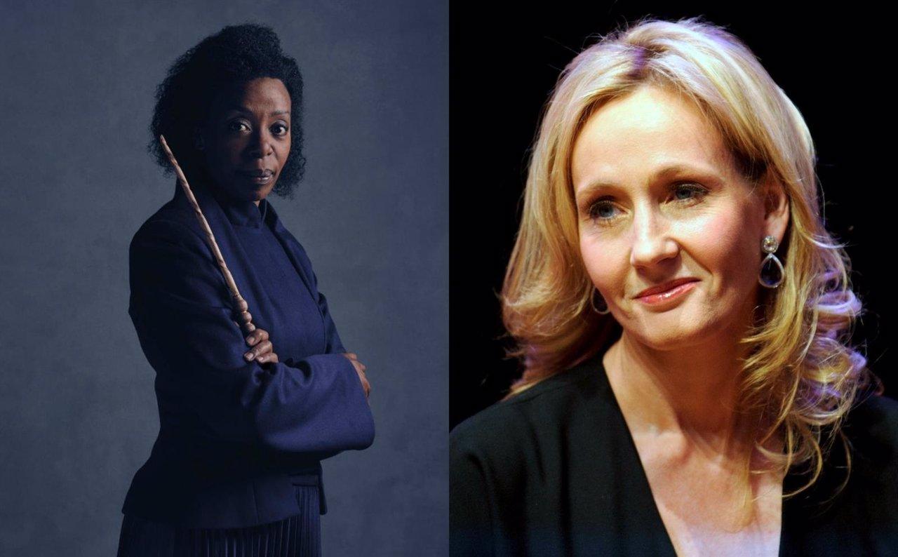 """J.K. Rowling carga contra los """"idiotas racistas"""" que critican a la Hermione negra"""