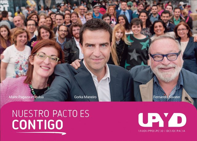 Lema de campaña de UPyD