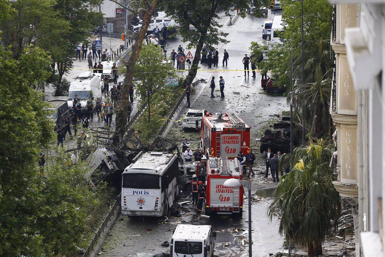 Explosión de un autobús en Turquía