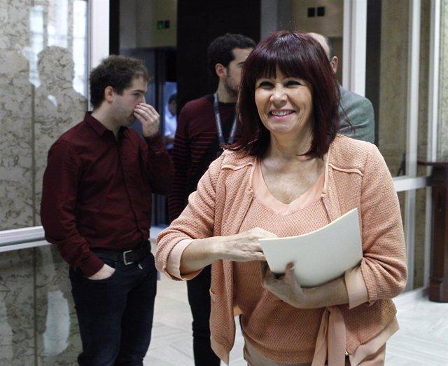 Micaela Navarro en el Congreso