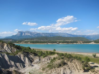 La CHE adjudica los planes de emergencia de dos embalses en Huesca