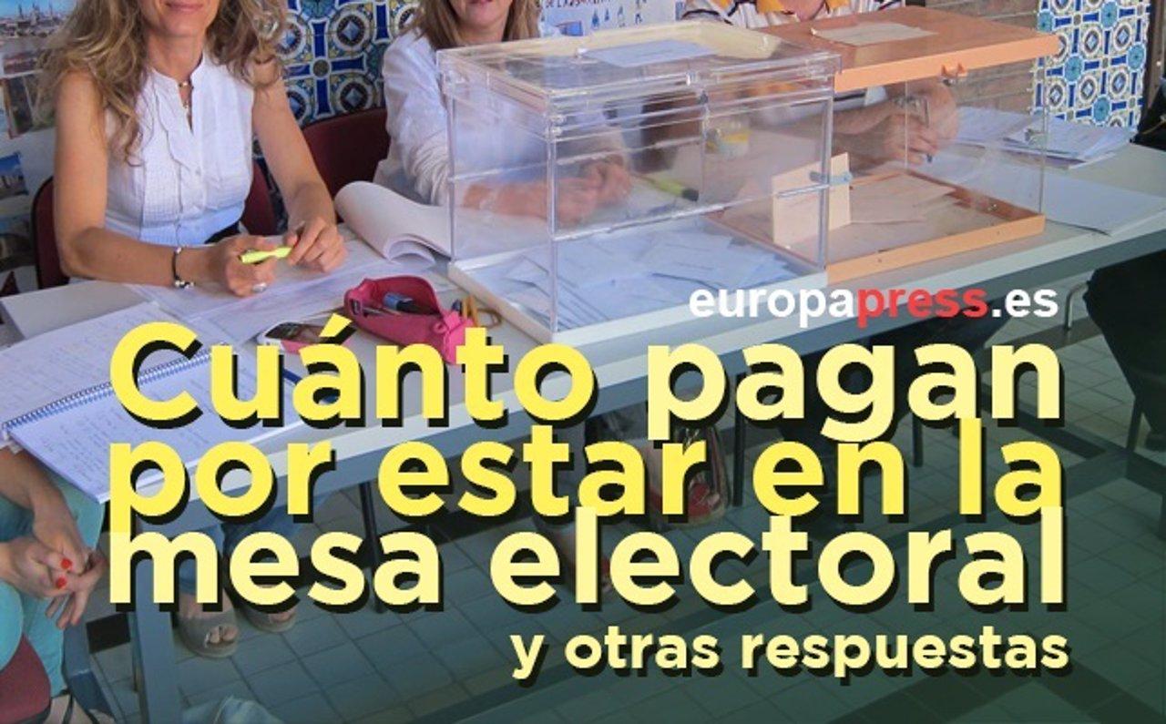 Elecciones de catalu a 2017 cu nto pagan por estar en la for Presidente mesa electoral