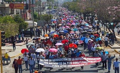 Un tercer detenido por agredir a maestros que no quisieron unirse al paro en Chiapas
