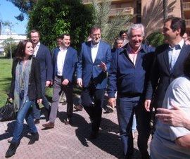 Rajoy visita hoy Cádiz y volverá a Andalucía cuatro veces más en campaña