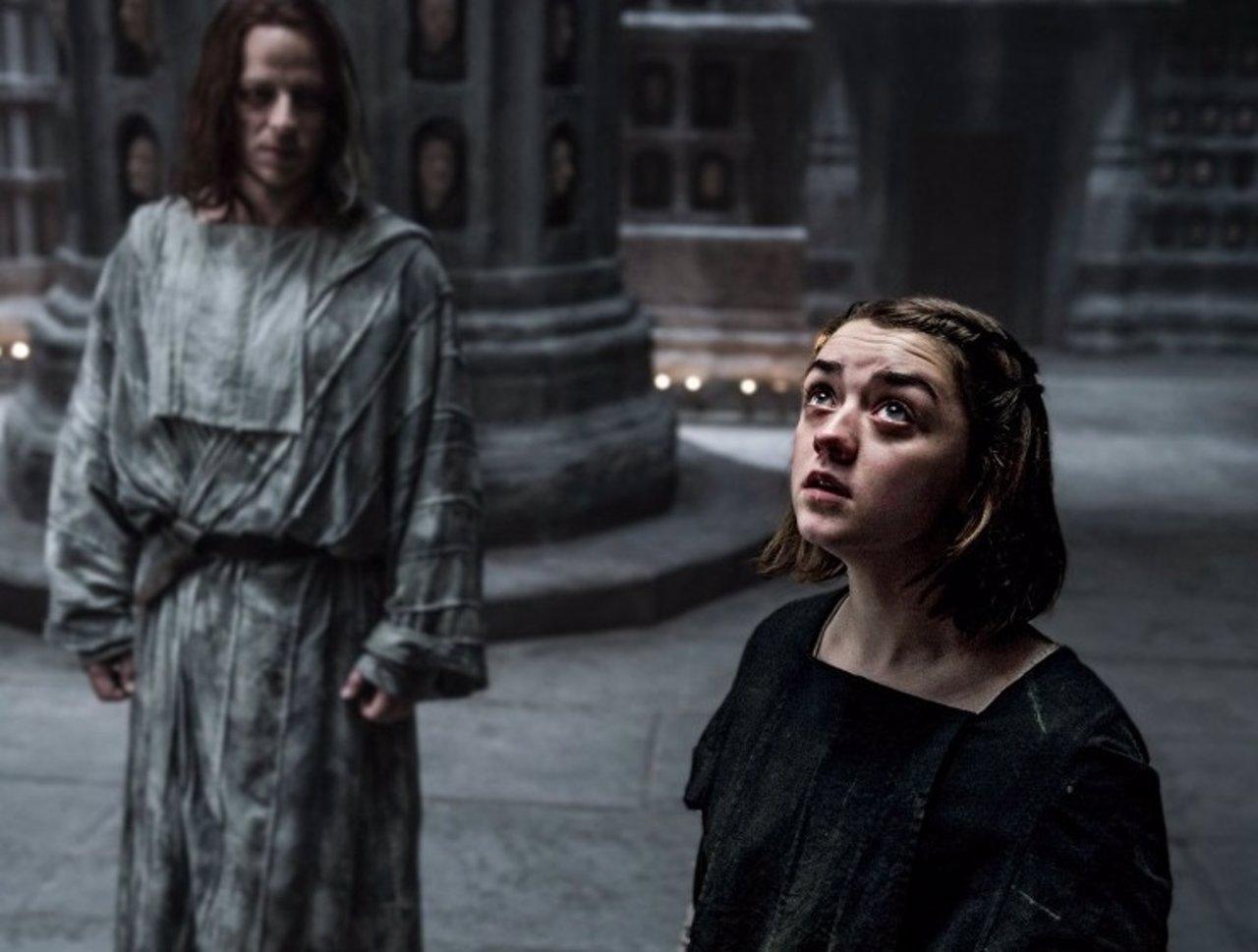 Maisse Williams es Arya Stark en Juego de tronos