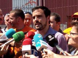 """Garzón dice que Unidos Podemos """"está en disposición y tiene por objetivo"""" ganar al PP, partido """"más corrupto"""" de la UE"""