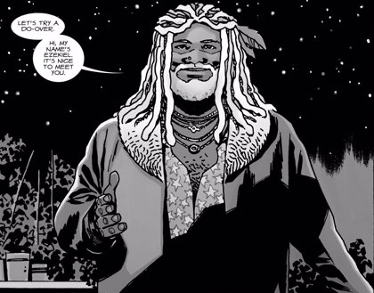 ¿Ha encontrado ya The Walking Dead a su Ezekiel?