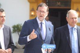 """Rajoy avisa que el """"mayor disparate"""" sería derogar lo hecho"""