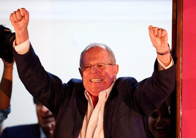 Pedro Pablo Kuczynski, candidato a la Presidencia de Perú