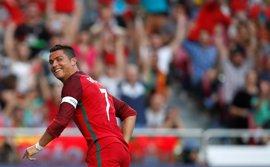 Cristiano pone a punto a Portugal antes de viajar a Francia