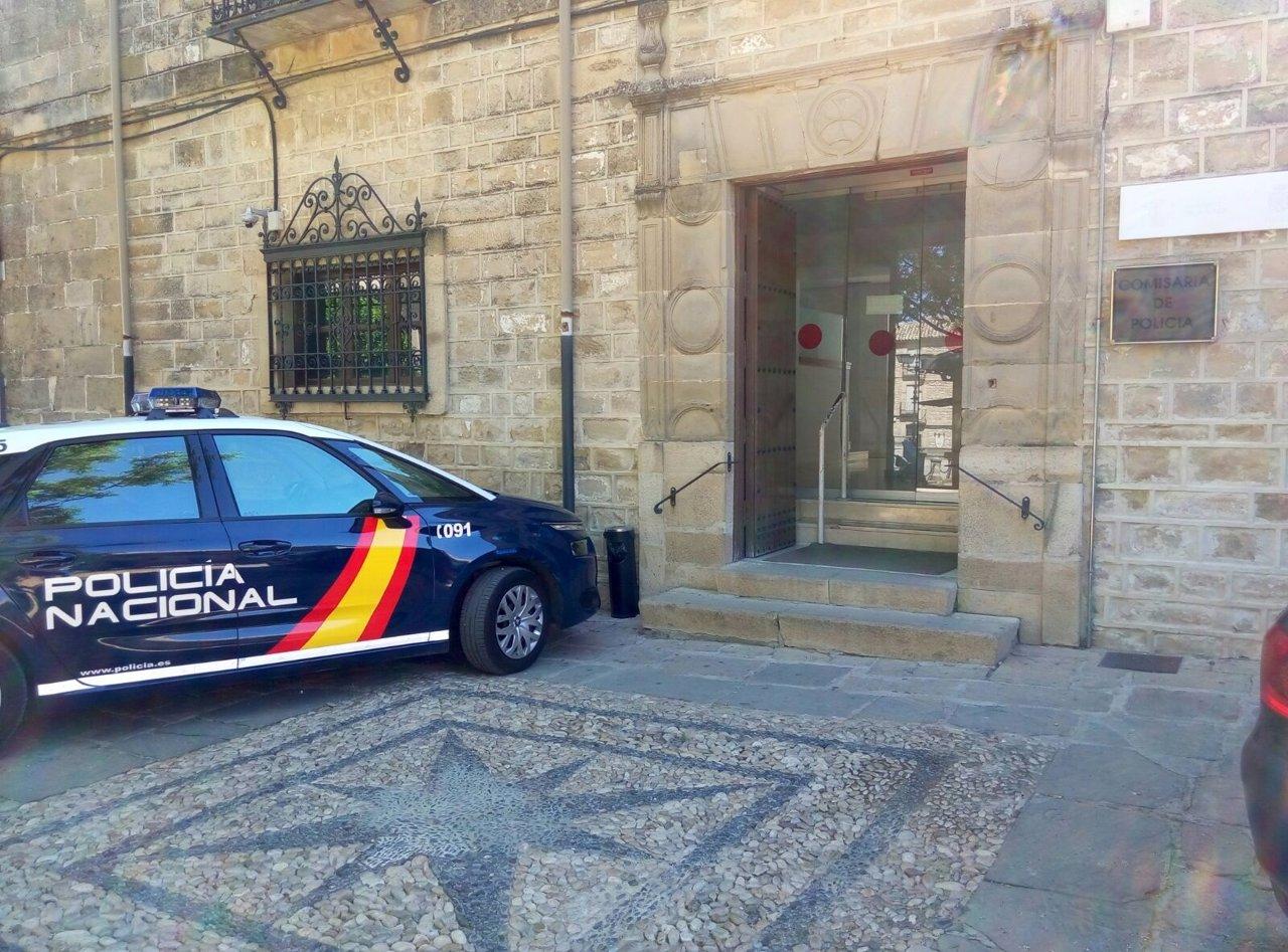 Comisaría de la Policía Nacional en Úbeda.
