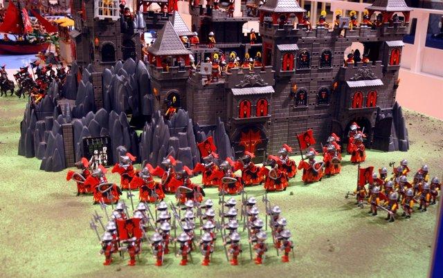 Figuras De La Exposición 'Universo Playmobil' .