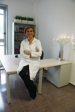 Marta Garaulet en su despacho del Edificio LAIB