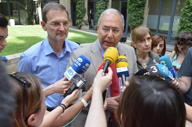 Roberto Fernández, rector de la UdL