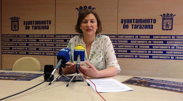 Waldesca Navarro ha presentado los actos este jueves en el Ayuntamiento