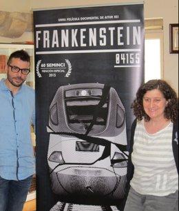El director del documental sobre el Alvia y la vicepresidenta de la Diputación