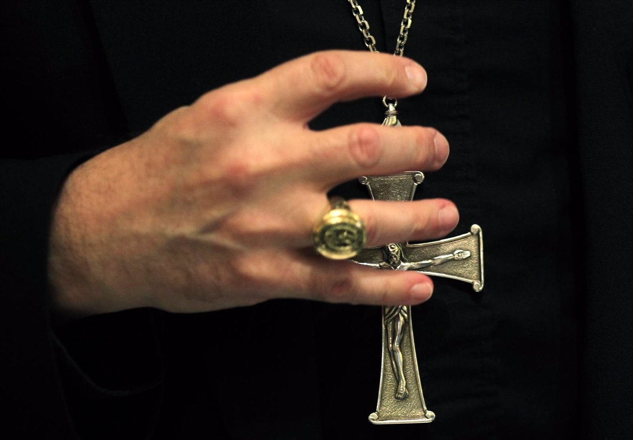 La cruz de un obispo