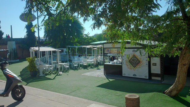 La terraza bar Capote.
