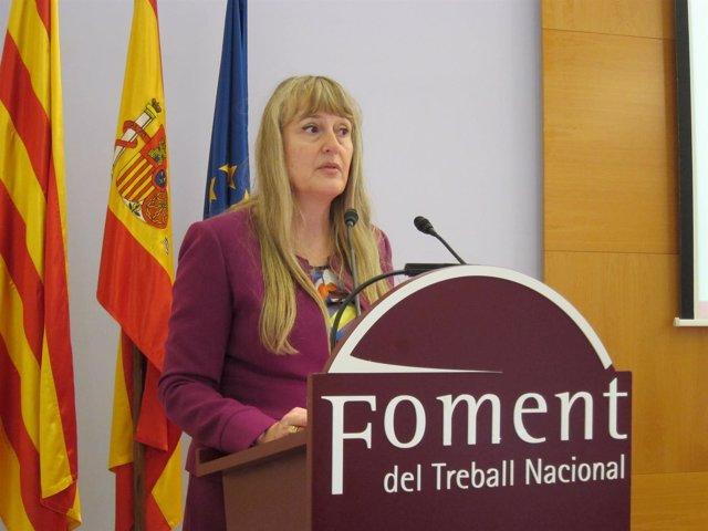 Maria Helena de Felipe (Fomento del Trabajo y Afaemme)