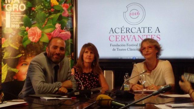 Natalia Menéndez presenta seis iniciativas para el IV Centenario de Cervantes