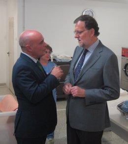 Rajoy en su visita a Salamanca