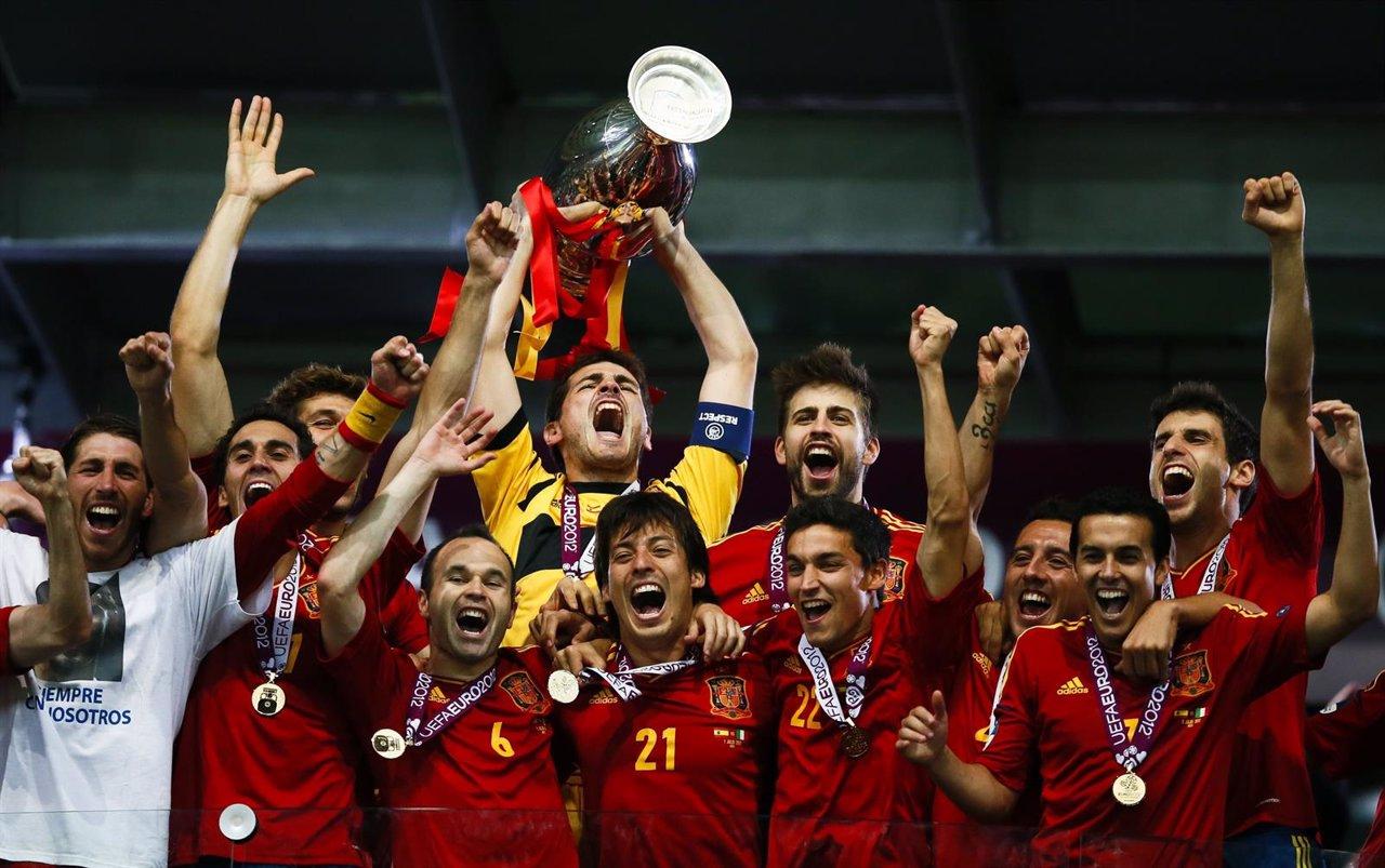 España Conquista La Eurocopa